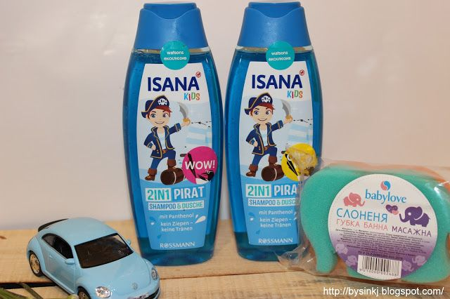 ©Бусинка: Средство 2-в-1 шампунь и гель для душа Isana kids ...
