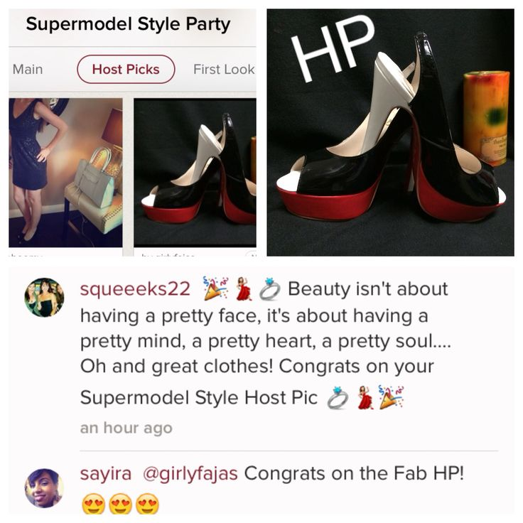 I had a #blast #today #thanks to the #amazing #hostings on the #supermodel #fashion #party that pick  this #heels