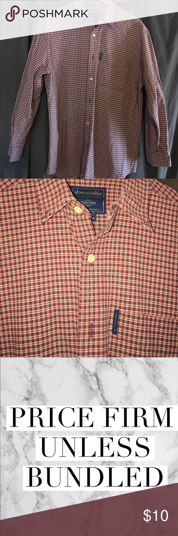 Abercrombie & Fitch shirt Gently worn Abercrombie & Fitch shirt size XL Abercrombie & Fitch Shirts Casual Button Down Shirts