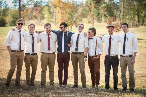 20 Smart Casual Looks for Groomsmen | SouthBound Bride
