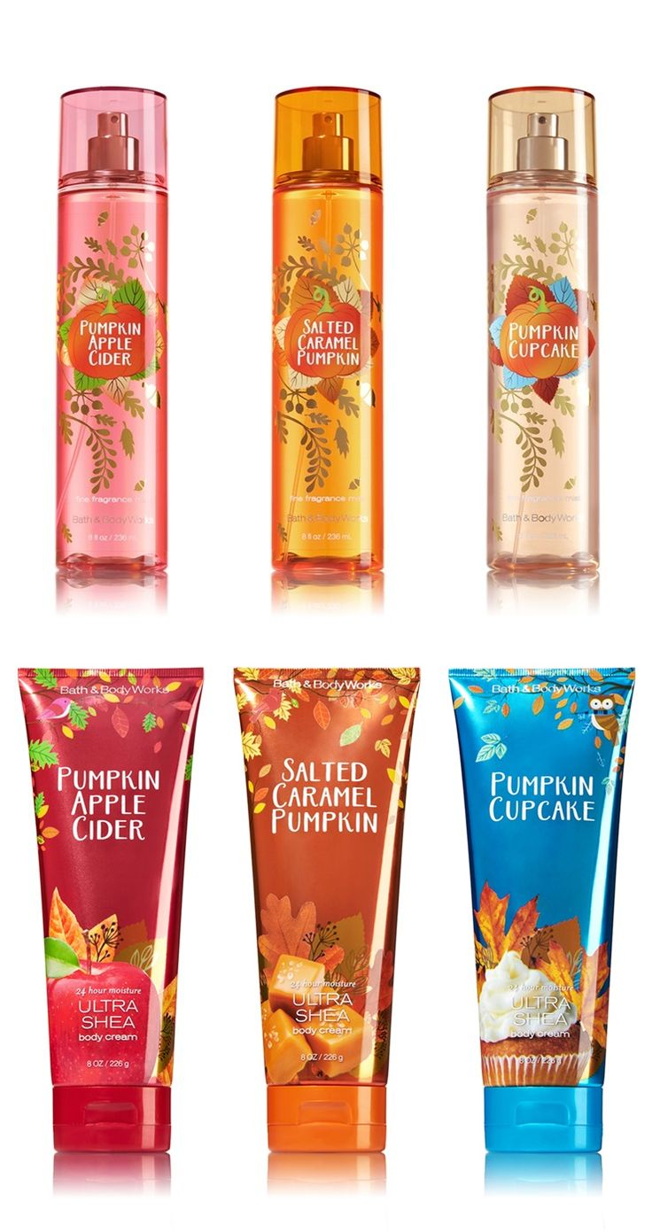 Bath & Body Works Pumpkin Lovers Rejoice Fall 2016