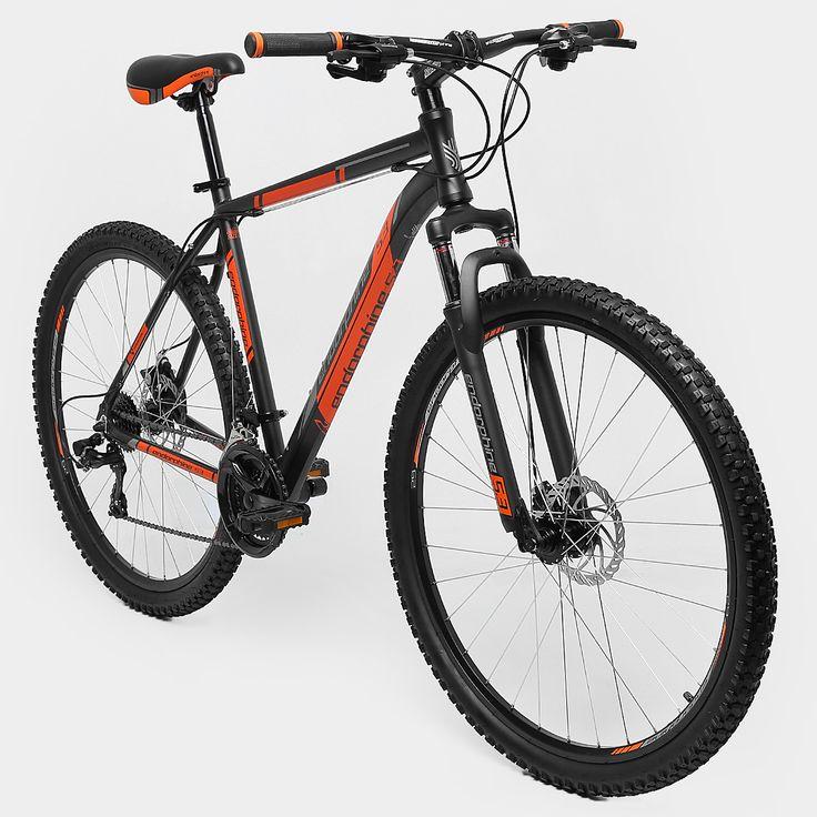 Bicicleta GONEW Endorphine 5.3 -Shimano Alumínio Aro 29 - 21 Marchas- Freio A Disco - 2016 Preto e Laranja | Netshoes