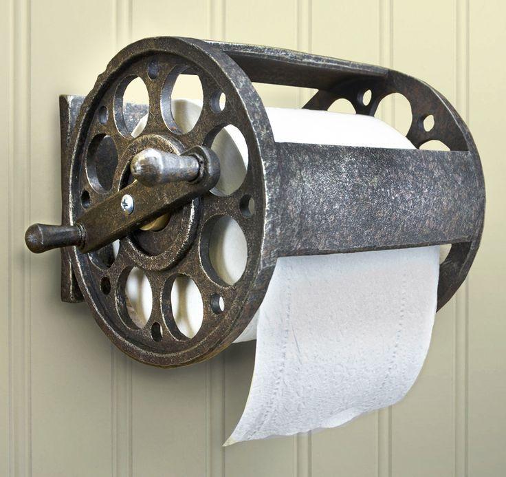 Best 25 toilet paper rolls ideas on pinterest toilet for Fishing reel toilet paper holder
