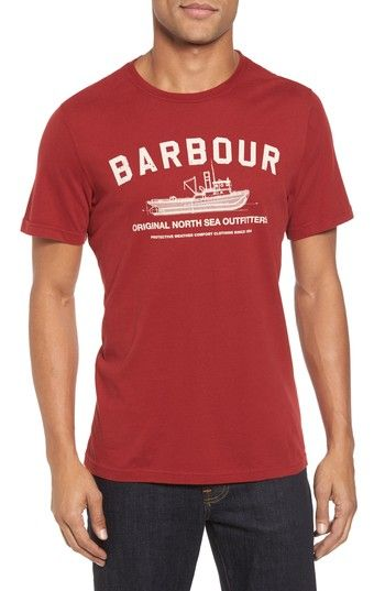 BARBOUR BARTA T-SHIRT. #barbour #cloth #