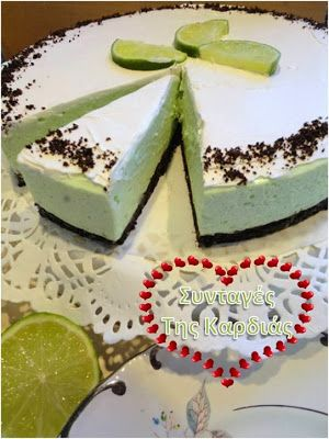 Cheesecake lime