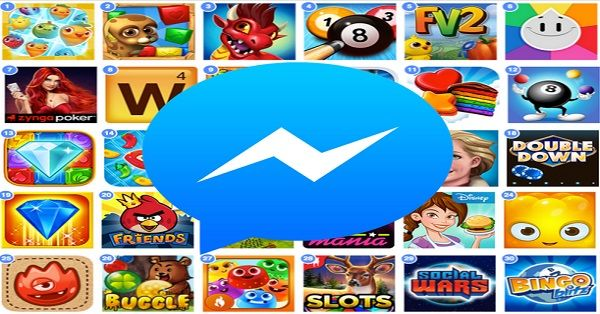 Mirip Line, Facebook Messenger Luncurkan Fitur Games