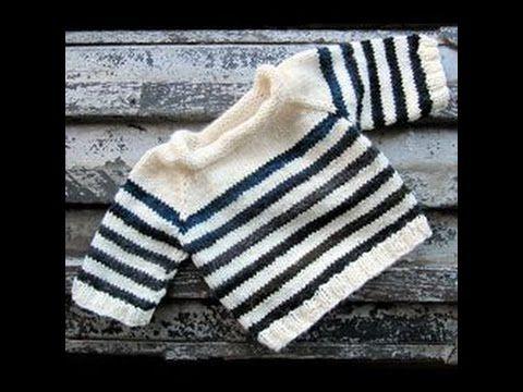 Jersey tejido a crochet para bebe