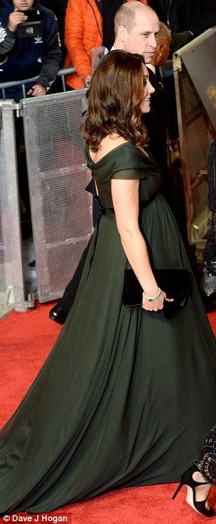 The Duchess of Cambridge faced her most difficult fashion dilemma to date at Sunday night's BAFTA Awards, as she defied the Time's Up campaign, to wear green on the red carpet.