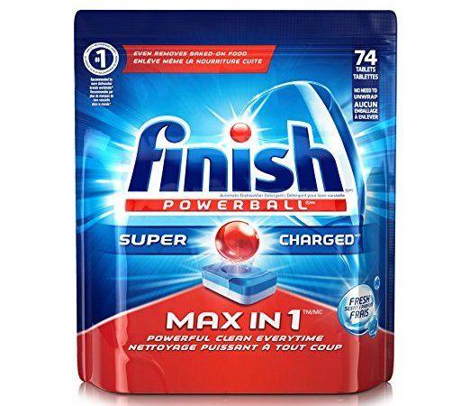 Finish Dishwasher Detergent on Amazon