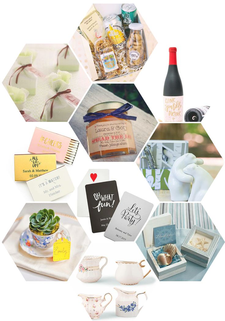 Show your appreciation to your guests with your choice of wedding favors. Get tips and ideas on choosing your personalized or DIY gifts that represent the time of your love.