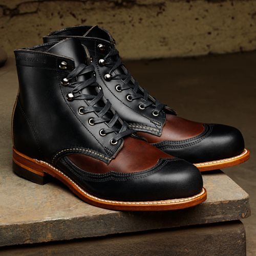 Step in style. Classic. 1000 Mile Boots from Wolverine. Got me a pair.