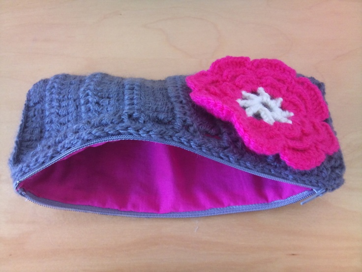 Crocheted Pencil Case   Stuff to Try   Pinterest   Pencil ...