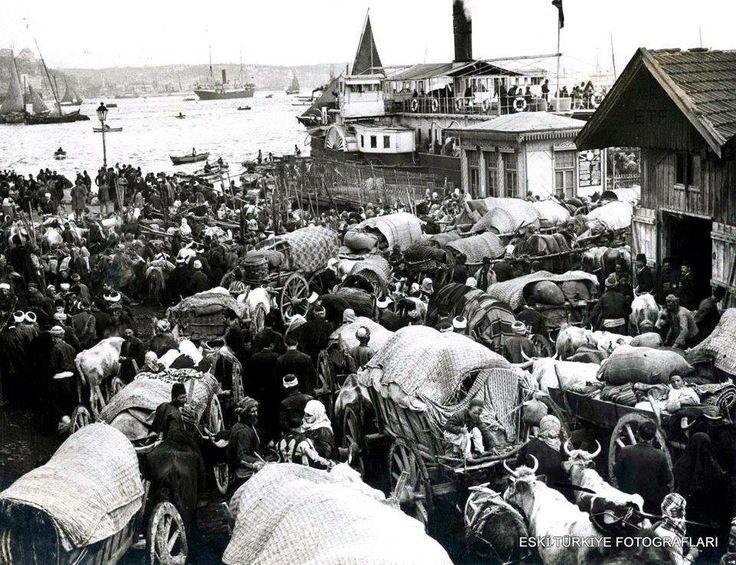 SİRKECİ ARABA VAPURU İSKELESİ - 1912
