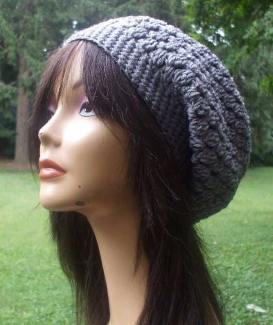 25 Best Crocheted Slouchy Hats Images On Pinterest Beanies