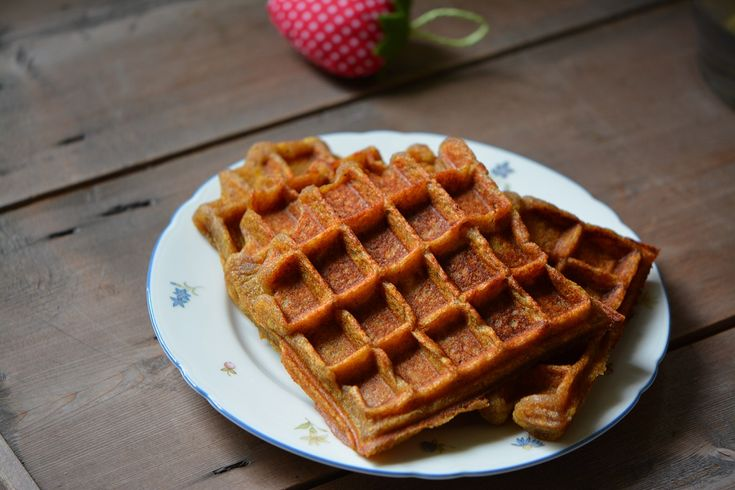 Plantain waffles - gluten free, dairy free, egg free, nut free, grain free;