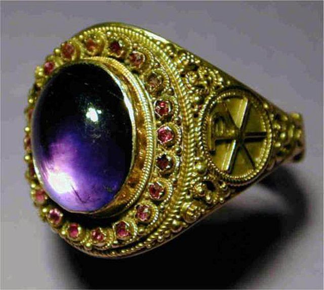 25 Best Images About Ecclesiastical Rings On Pinterest