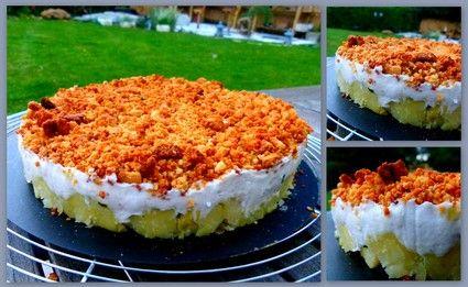 Cheesecake salé... La brandade de morue revisitée