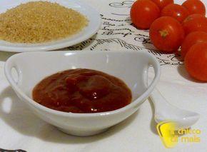Salsa barbecue (ricetta BBQ sauce). Ricetta della salsa barbecue americana fatta in casa, per carne alla griglia, hamburger e crochette, anche senza glutine