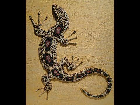 Как сделать ящерицу своими руками