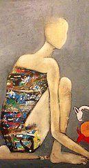 original oil on canvas by Georgie Maddox