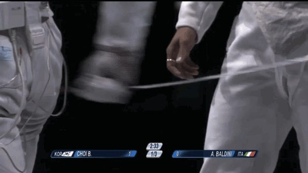 The Most Homoerotic Olympic Fencing Dispute Ever