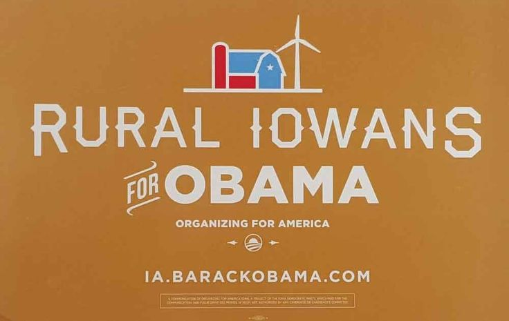 Iowans For Obama Poster