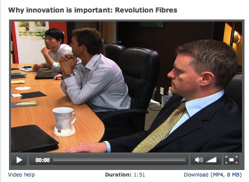 WHY INNOVATION IS IMPORTANT: REVOLUTION FIBRES. Albert McGhee and Iain Hosie, from Revolution Fibres, discuss the importance of innovation for New Zealand.