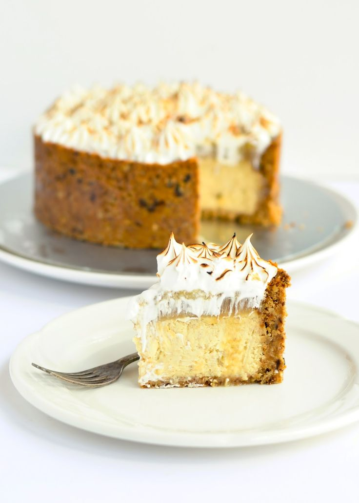 The moonblush Baker: The time of day/-/ Banoffee deep dish cheesecake