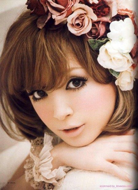 ayumi hamasaki sweet makeup :)