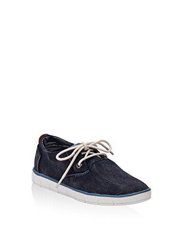 Pepe Jeans Zapatos de Cordones Race Basic Azul Oscuro EU 33 nHRhYPo8