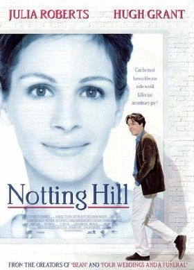 Notting Hill - 1999 British romantic comedy film set in Notting Hill, London, released on 21 May 1999