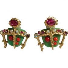 christian lacroix earrings - Google Search