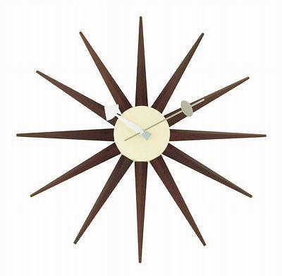 Graphic Design - Graphic Design Ideas  - Nelson Sunburst Clock   Graphic Design Ideas :     – Picture :     – Description  Nelson Sunburst Clock  -Read More –