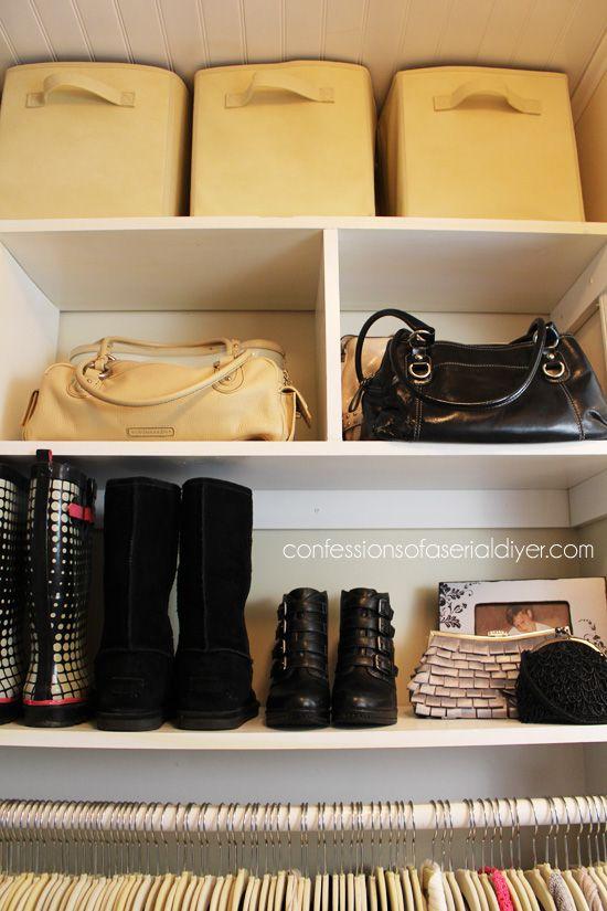 25 best ideas about como organizar un armario on pinterest organizar closet accesorios para - Ideas para organizar el armario ...