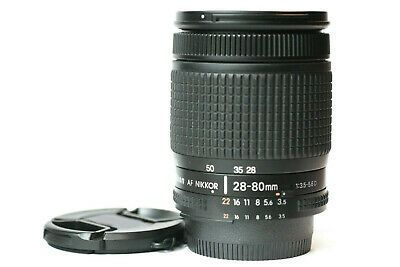 Nikon 28 80mm Af D Auto Focus Zoom Lens Nice In 2020 Camera Lenses Zoom Lens Lenses