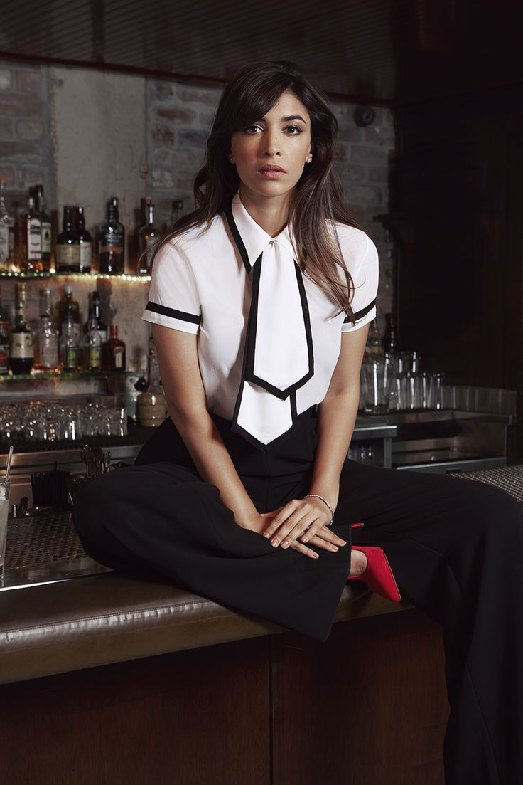 Hannah Simone in Darling Issue No. 13 #newgirl | Photo by Kat Borchart