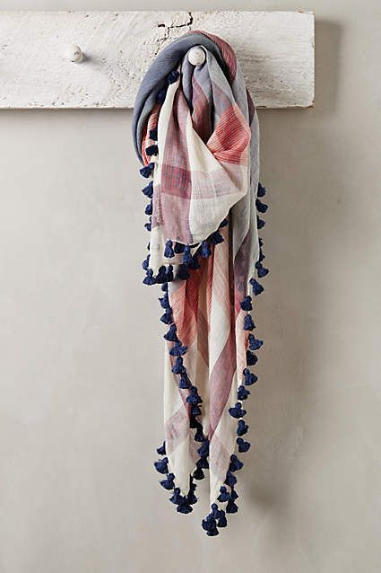 Plaid Bandana Scarf - anthropologie.com #anthropologie #AnthroFave