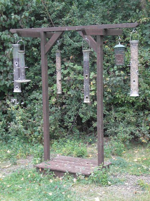 bird feeding station - Google Search