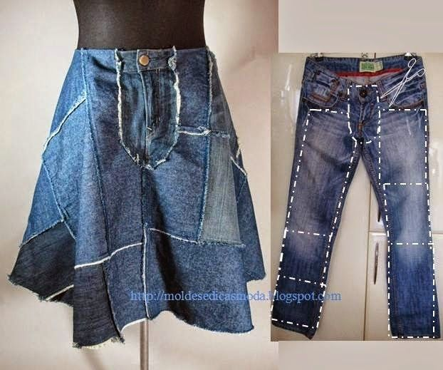 RECYCLING IDEAS ~ Fashion and Sewing Tips http://modaedicasdecostura.blogspot.pt