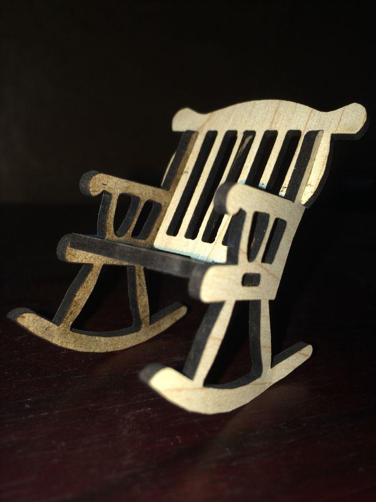 LaserCut Tiny swinging chair