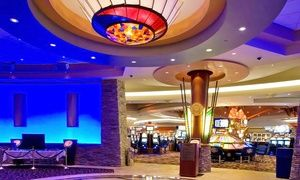 Groupon - $ 20 for $20 Worth of Non-Cashable Slot-Machine Play and $20 Worth of Food ($40 Value) in Whitecap. Groupon deal price: C$20