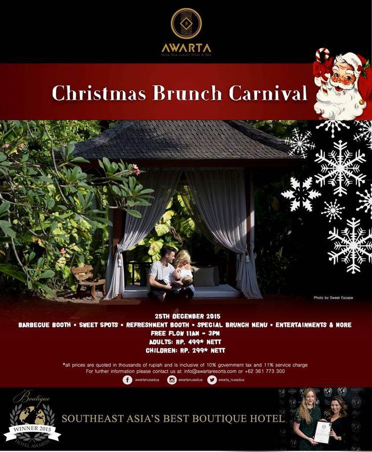 Christmas Brunch Carnival @ Awarta Nusa Dua