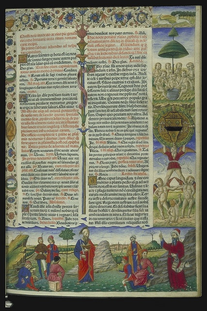 Breviary printed in Venice by Nicolaus Jenson: 1478 Hunterian Bf.1.18 by University of Glasgow Library