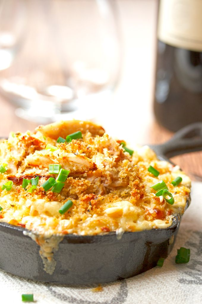Dungeness Crab Mac and Cheese with Jarlsberg Cheese | http://cookswithcocktails.com/dungeness-crab-mac-cheese-with-jarlsberg-cheese/