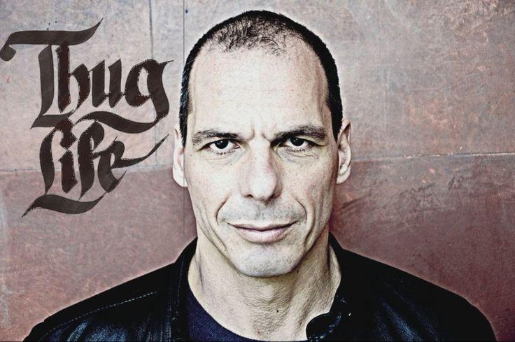 Thug life - Varoufakis ( Paki Pan ) Varoufakis: no fucks given