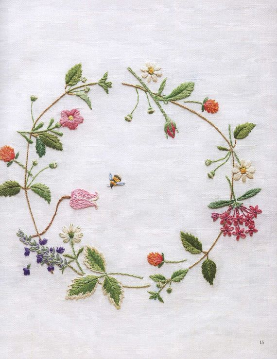 Embroidery Stitch Diary eBook/Embroidery Four by Bielleni on Etsy