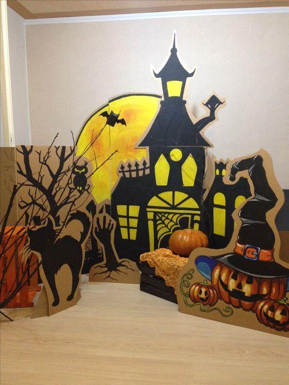 Halloween Klassenzimmer Dekorationen