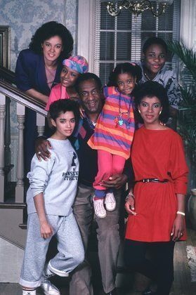 The Huxtables (The Cosby Show). Funny how this show got me through one of the most difficult times in my life... Bill Cosby is a riot...