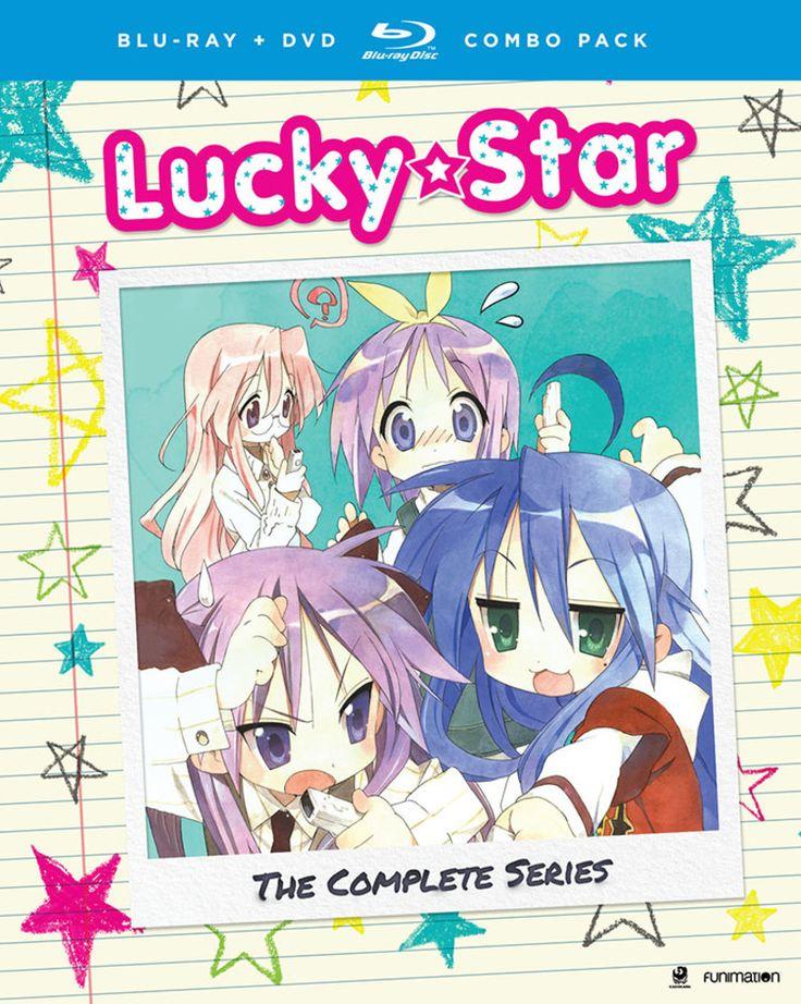 Lucky Star Complete Series + OVA Bluray/DVD Lucky star