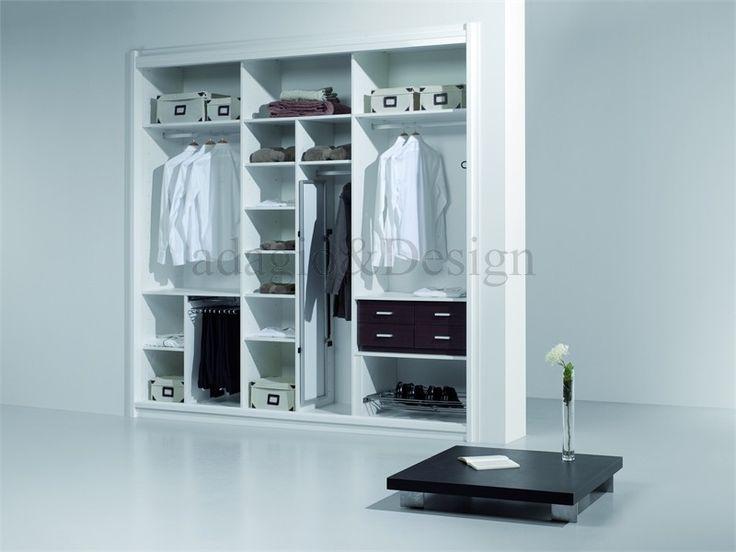 interior forrado a medida en color blanco adagiodesign
